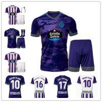 21 22 Real Valladolid Mens Futebol Jerseys Sergi Guardiola Enes Unal Javi Moyano Home 2021 2022 Camisa de Futebol Nacho Sandro Manga Curta