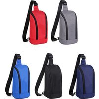 Men Chest Bags High Quality Casual Crossbody Bag Waterproof Oxford Sling Backpack Travel Day Packs Woman Phone Wallet