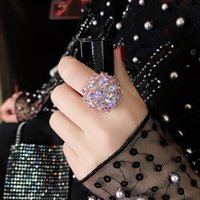 14k rosa oro colorido anillo de diamante para mujeres 2 carat anillos de bizuteria bijoux femme piedras preciosas joyería fina 14k anillos anel