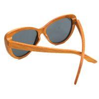 Gafas de sol de madera de gafas de sol personalizada de gafas de sol.