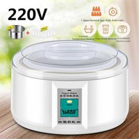 Joghurthersteller 1.5L 220V Hersteller mit 7 Glas Gärkleider Automatische Hine Haushaltsmittel-DIY-Küchengerät