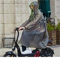 Design Multifunktionale Qualität Wasserdichte Wiederverwendbare Lange Kapuze Fahrrad Frauen Regenmantel Männer Motorrad Tre Jllaam