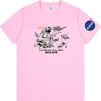 National Aeronautics Space Administration NASA T Shirt Black Grey Red Pink White Men and Women size S-4XL 244