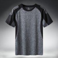 T-shirt da uomo in t-shirt da uomo in t-shirt da uomo Casual casual Plus Asian Size 5XL 6XL Top Tees Gym Tshirt Vestiti KG-819