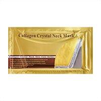 DHL Anti Wrinkle Gold Activate Collagen Neck Mask Neck youthful Care White Moisturizing Anti aging