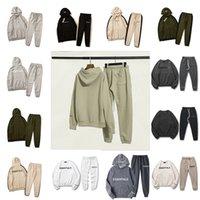 Diseñador Essentials Tracksuits Niebla Hombres Trajes de jogging Traje Traje Sportwear Set Mens Kanye West Hoodie Sudaderas de gran tamaño Sudaderas Sudaderas Largas Pantalones Pantalón Pantalón