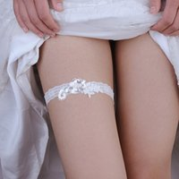 Trixy Th18 кружева свадебный подвязку синяя нога вышивка цветочные сексуальные подгузники для женщин / женские / невесты бедра бедра свадебные ноги подвязки