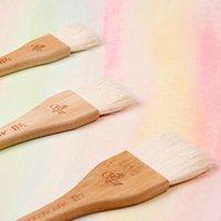 Brosses à ongles ArtSecret 3962 SGF Multi-Ust Art Brosse Haute qualité Cheveux de chèvre fumée Poignée de bambou fumée pour peinture à l'aquarelle d'huile acrylique Anamel