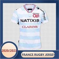 2020/2021 França Racing 92 Rugby Home Jersey Tamanho: S-XXXL-5XL (Imprimir nome personalizado e número) A qualidade é perfeita. Entrega grátis