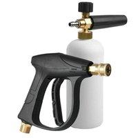 Lavadora de coches 1/4 pulgadas de nieve Lavado de espuma de espuma de lanza de lanza aerosol aerosol botella