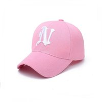 Best gift Spring and Autumn Embroidered N Letter Baseball Ca...