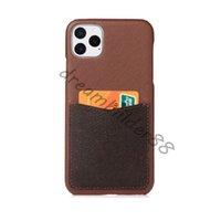Casos de telefone de moda para iPhone 12 pro máximo 11 11PRO 11PROMAX 7P 8P 7 8 mais x XS XR XSMAX PU clássico couro proteção case designer cobertura com caixa de cartão