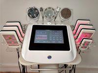 spa 6 in 1 radio frequency skin tightening slimming ultrasonic cavitation 40k laser lipo machine