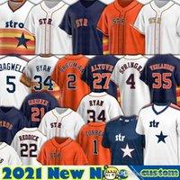 27 Jose Altuve Trikots Houston Alex Bregman Carlos Correa George Springer Baseball Zack Greinke Justin Verlander Zack Greinke Custom