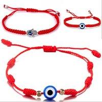 pretty Red String Bracelet Evil Eye, Red String Of Fate, Good Luck Bracelet, Amulet, Thread Bracelet, Protection Bracelet 12 W2