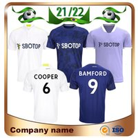 21/22 LEEDS United James Soccer Jersey 2021 Accueil Alioski Cooper T Roberts Jansson Bamford Hernandez Klich Away Maillots Shirts Chemises de football Uniformes