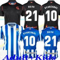 Gerçek Sociedad 2020 2021 Üçüncü Oyarzabal X Prieto Portu Futbol Forması David Silva Odegaard Juanmi 20 21 Camiseta De Futbol Futbol Gömlek