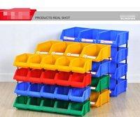 Parte di plastica Classificare la scatola di immagazzinaggio in garage di e-commerce Magazzino classificare la scatola di immagazzinaggio Caso di magazzino Caso di pulizia X1-X6