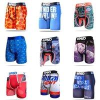Estilos aleatórios psd homens cuwear boxer confortável uunderwear homens boxer hip hop rock underwear moda rápido seco calcinha seca