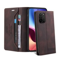 Case For Xiaomi Mi POCO F3 M3 X3 NFC 11 10 9 10T Lite Pro A3 Luxury Magnetic Leather Wallet Flip Stand Card Phone Book Cover
