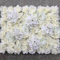 장식 꽃 화환 결혼식 배경 꽃 벽 인공 상점 창 장식 장미 수국 카펫 무대 레이아웃