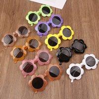 BAMBINI Occhiali da sole Cute Flower Shaped Occhiali da sole per ragazzi Girls Accessori per feste Accessori Costume Accessori Eyewear Decorativi 10 Colori GYL107