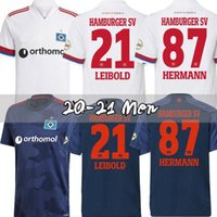 2020 2021 Hamburger SV Soccer Jerseys Accueil Kittel Leibold Dudziak Terodde 20 21 Hamburger Camisas de Futebol Mens enfants Chemises de football
