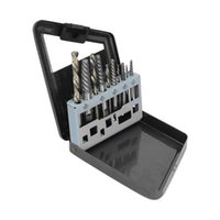 Power Tool Sets Bolt Stud Removers Screw Extractor Drill Bit With Metal Box For Broken Fittings Damaged Screws