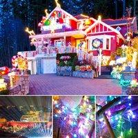 M1864 LED-Strings 5m10m 50pcs / 100 stücke Lichter RGBIC Fernbedienung USB-Stromversorgung Micro Mini Kupfer Silber Draht Sternenhimmel Weihnachten Halloween Dekoration