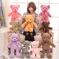 Das zehnfarbige Teddybär-Plüschspielzeug, ein Geburtstagsgeschenk für Mädchen und Kinder, ist in der Raumdekoration sehr süß