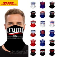 US Presidential Election Trump 2024 Magic Scarf Mask Cycling Masks Scarf Motorcycle Magic Scarves Headscarf Neck Outdoor Face Mask