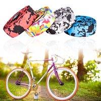 Boîtier de vélos Composants MTB Road Guidon Ruban de Camouflage Poignée de cyclage Courroie Bandes de vélo Bar à vélo Soft Bar Grip