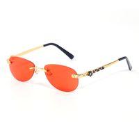 Chita mulheres óculos de sol homens óculos polido ouro banhado a lentes em forma de borboleta lentes de marca logo requintado estilo exclusivo Vário cor cinza vermelho com caixa