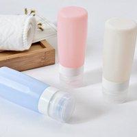 Bouteille de lotion de voyage en silicone portable rechargeable bouteilles vides de shampooing de douche de douche gel de gel de sous-bouteille tube pression conteneur