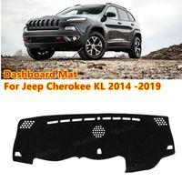 Für Jeep Cherokee KL 2014 -2019 Anti-Slip MAT SunShade Dashmat schützen Teppich Dashboard Cover Pad Zubehör