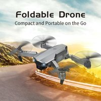 Drones Topaçak T58 2.4G WIFI FPV Geniş Açı Mesleki 1080 P HD Kamera RC Helikopter Katlanabilir Mini Dron Yüksekliği Tutma Modu Quadcopter RTF