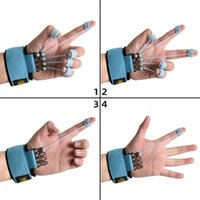 Hand Grips Finger Gripper Strength Trainer Extensor Exerciser Flexion And Extension Training Device With Resistant Band ZZ1018C