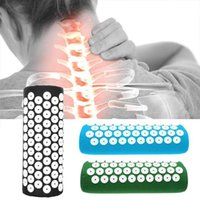Tension Release Relieves Stress Acupressure Massage Spike Pillow Body Pain Spike Mat Acupuncture Massage Yoga Pillow H0911