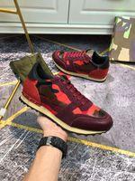 Luxurys desginters homens mulheres chegada tênis sapatos casuais de alta qualidade de couro genuíno ace abelha bordado desginer sapatilhas