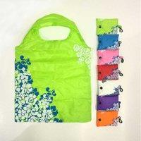 Bolso de compras plegable multi-color Chino Reutilizable Reutilizable Bolsa de compras para el medio ambiente Durable Bolso Artículos para el hogar
