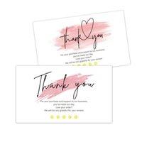 منتجات الورق 30 قطعة شكرا لدعم بطاقات العمل الصغيرة الخاصة بك بطاقة طلبك المعايدة الأسهم الحزب متجر على الانترنت متجر العملاء عيد ميلاد الدعامات