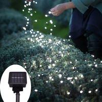 100 LEDs Lâmpada Solar Lâmpada LED String Fairy Luzes Solares Garlands Jardim Decoração de Natal para Lighting ao ar livre Pátio Wedding Yard Halloween