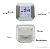 Touchscreen LCD Digital Kitchen Timer Pratico Cooking Timer Countdown Count Up Sveglia Cucina (non batteria) HHD7532