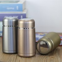 320ML Mini Cute Coffee Vacuum Flasks Stainless Steel Travel Drink Water Bottle Thermoses Cups and Mugs 5014 Q2