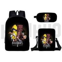 Backpack Little Nightmares 2 Teenager Shoulder Bag Women Cosmetic Bags Children 2021 Cartoon School Laptop 16inch Rucksack