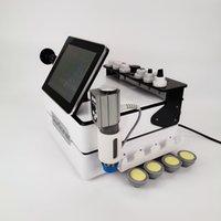 Gadgets de saúde inteligente Máquina de alívio da dor de dor diatermy alta intensidade 300-450KHz com onda de choque e EMS