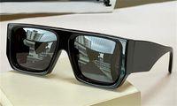 패션 디자인 선글라스 40018U 큰 스퀘어 플레이트 프레임 트렌드 다기능 스타일 야외 여름 보호 UV400 도매 안경