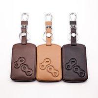 Кожаный автомобильный ключ крышка защитник для Renault Kerry Kale гордый из ландшафтной карточки бин дистанционного управления ключ клавиатура крышка крышки