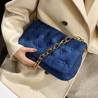 HBP 캔버스 겨드랑이 가방 여성을위한 2021 체인 어깨 가방 브랜드 트렌드 핸드백 및 지갑 럭셔리 여성 패션 트 렌딩 핸드백