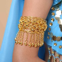 Indian Dance Bell Arm Chain Buik Dance Costume Accessoires Armband Y